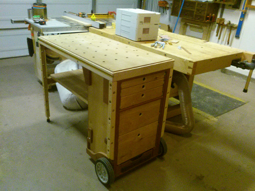 MF-TC: Multifunction tool cart - Benchworks
