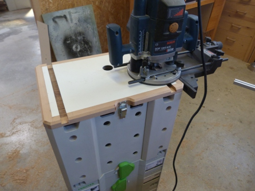 router table routing