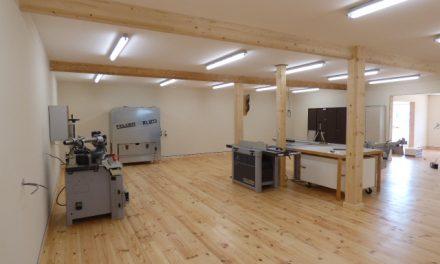 My workshop floor