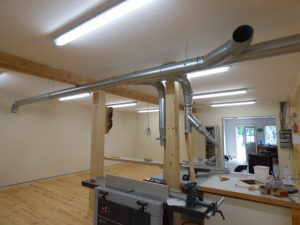 Dust Collection System Benchworks