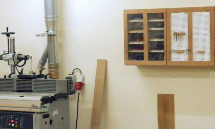 Cabinet for shaper cutters