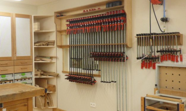 Bessey clamp rack no2