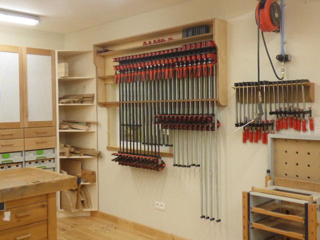 Bessey clamp rack no2 - Benchworks