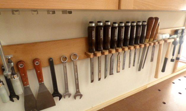 tool/chisel rack