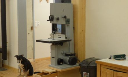 band saw stand (Record Power BS300E)