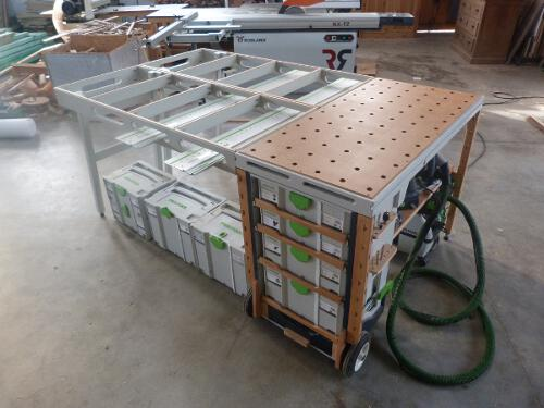 MF-TC: Multifunction tool cart